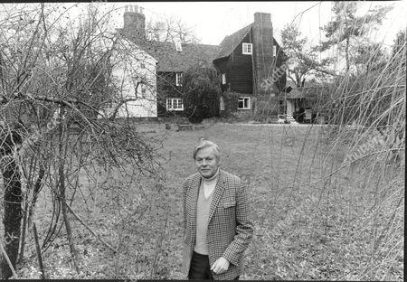 Actor Jack Watling At Home
