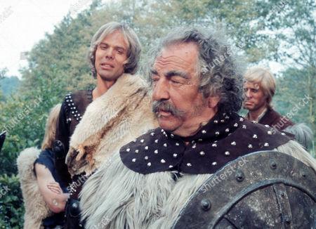 Michael Gothard as Kai and Rupert Davies as Cerdig