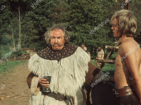 Rupert Davies as Cerdig and Michael Gothard as Kai