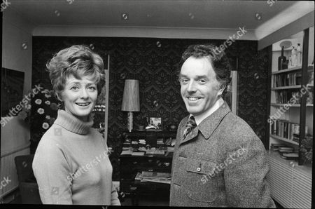 Brian Rix And His Wife Elspet Gray Pictured At Home In Roehampton