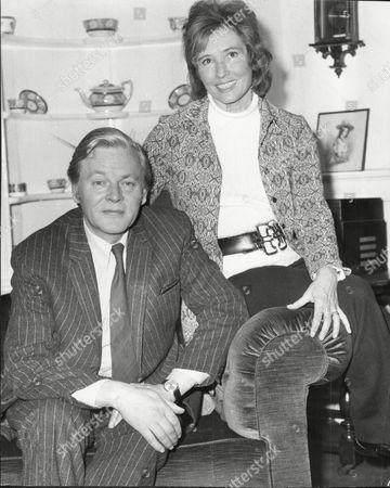 Actor Jack Watling With His Wife Patricia Watling
