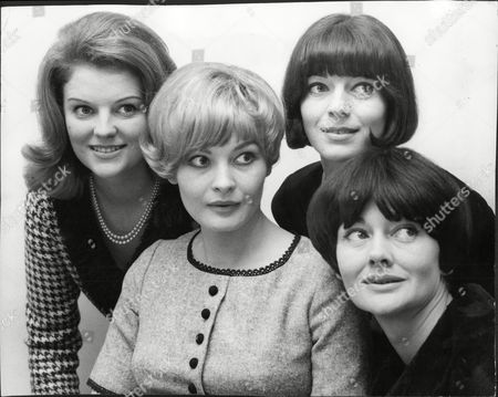 Actresses To Appear In Television Programme 'the Rat Catchers' L-r Actress Camilla Brockman Jan Waters Wendy Gifford And Sylvia Kay