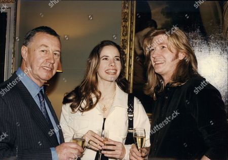 Sir Terence Conran Designer Darcy Bussell Ballet Dancer And Nicky Clarke Hair Stylist At Spencer House For Evening Standard Party Celebrating London High Achievers 1993.