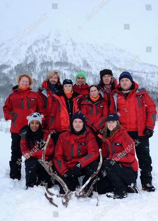 (L-R Back Row)Charlie Dimmock, Nicky Clarke, Lisa Maxwell, Rav Wilding, Brooke Kinsella, Martin Kemp and John Thomson (L-R Front Row) Angelica Bell, Sean Maguire and Amy Williams