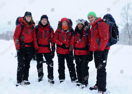 Amy Williams, Sean Maguire, Charlie Dimmock, Angelica Bell and Rav Wilding