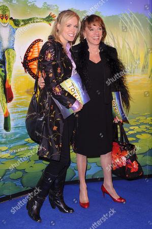 Rebecca Wilcox and Esther Rantzen