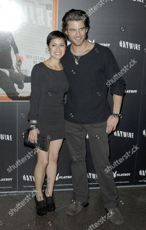 Sylvia Brindis and Johnny Whitworth