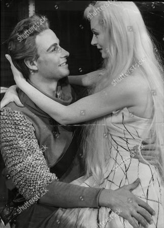 Moira Shearer (dead 01/06) And John Humphrey In Rehearsal For The Play Ondine In Which Shearer Plays The Title Role