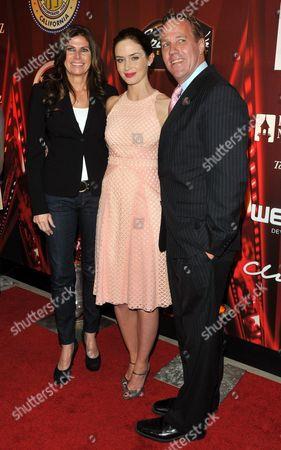 Mary Bono Mack, Emily Blut and Steve Pougnet