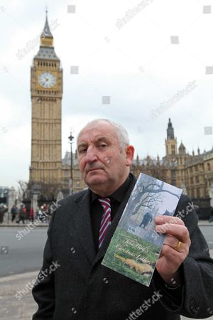 Stock Image of John Bird Founder Of The Big Issue Sends A Christmas Letter To The Government