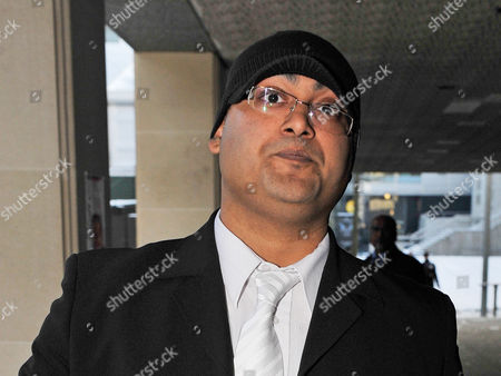 Trial Of Abul And Ashraf Azad Charged With Threats To Kill Abul's Daughter Afshan Azad A Child Actress On The Harry Potter Movies. pictured Brother Ashraf Azad  20/12/10