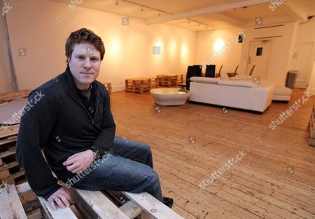 Stock Photo of Director Tom Attenborough Who Is Directing A Play Next Month At The Gallery Soho London