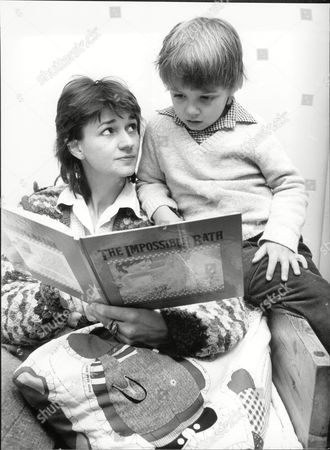 Authoress Marina Warner And Son Conrad