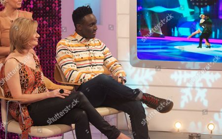 Maria Filippov and Andy Akinwolere
