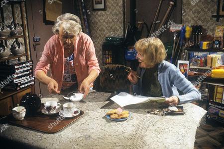 Irene Handl and Betty Romaine