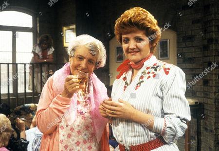 Irene Handl and Julia McKenzie