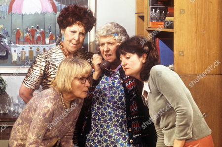 Anna Wing, Betty Romaine and Irene Handl