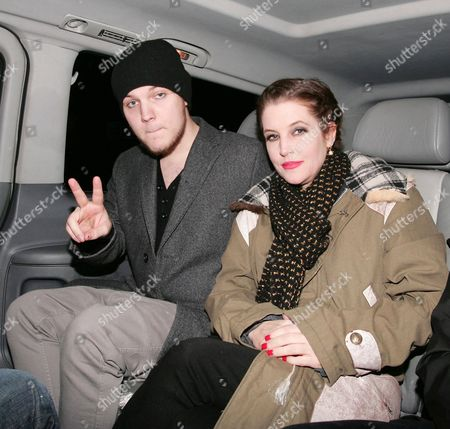 Benjamin Presley Keough and Lisa Marie Presley