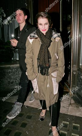 Lisa Marie Presley and guest