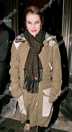 Stock Image of Lisa Marie Presley