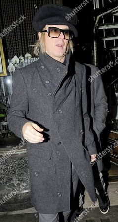 Editorial image of Lisa Marie Presley and Benjamin Presley Keough at Mr Chow restaurant, London, Britain - 09 Jan 2012