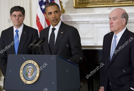 Jacob Lew, Barack Obama and William Daley