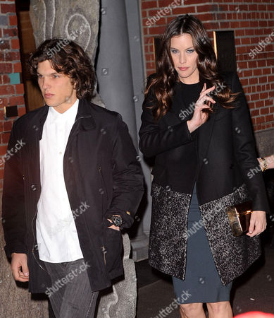 Stock Picture of Theo Wenner and Liv Tyler