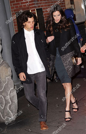 Stock Photo of Theo Wenner and Liv Tyler