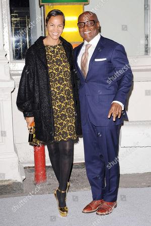 Erica Reid and L.A. Reid