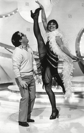 Actress And Dancer Elizabeth Seal Dancing With Ronnie Corbett On The Television Programe For Bbc