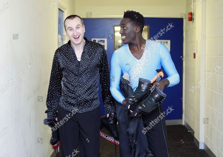 Behind the scenes : Andy Whyment and Andy Akinwolere