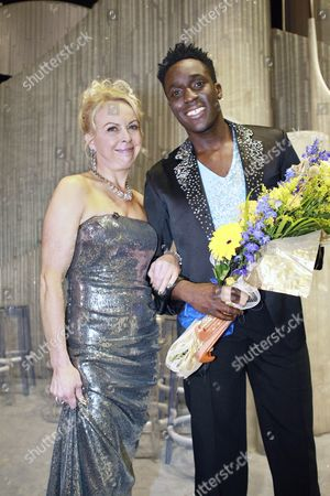 Behind The Scenes: Jayne Torvill with Andy Akinwolere
