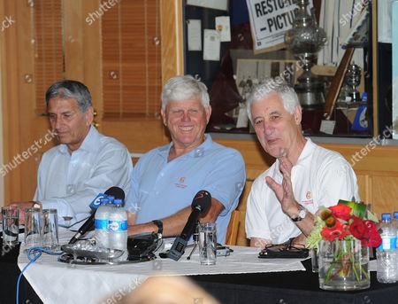 Majid Khan, Barry Richards, Mike Brearley