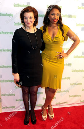 Stock Photo of Good Housekeeping Editor In Chief, Rosemary Ellis and Jennifer Hudson