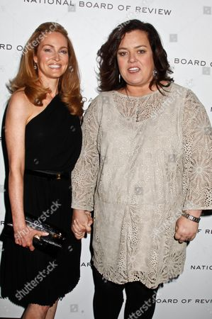 Rosie O'Donnell and fiance Michelle Rounds