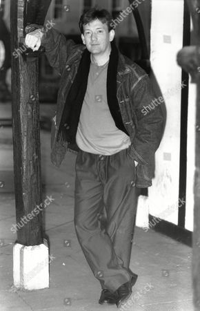 'the Bill' Actor John Salthouse In Soho Square London