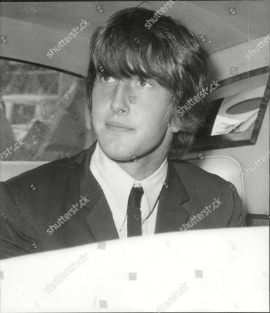 Gordon Waller Of Peter & Gordon Pop Group Her In Back Of Car 1964.