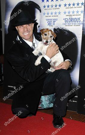 Trainer Omar Von Muller & Uggie the dog