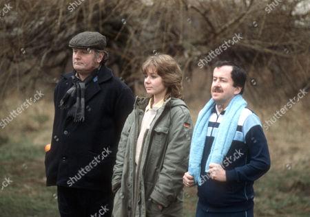 Terence Rigby as Big Al, Barbara Flynn as Jill Swinburne and Danny Schiller as Little Norm