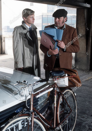 Dominic Jephcott as DS Hudson and Terence Rigby as Big Al.