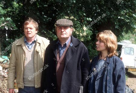 James Bolam as Trevor Chaplin, Terence Rigby as Big Al and Barbara Flynn as Jill Swinburne