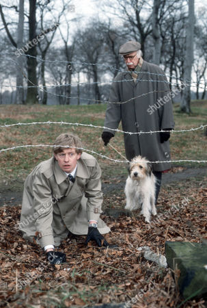 Stock Image of Dominic Jephcott as DS Hobson and Keith Marsh as Harry