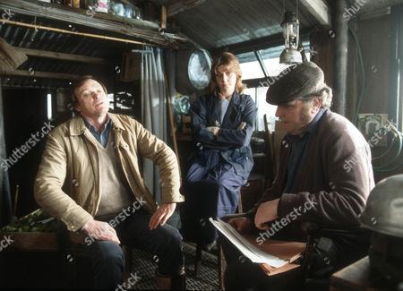 James Bolam as Trevor Chaplin, Barbara Flynn as Jill Swinburne and Terence Rigby as Big Al