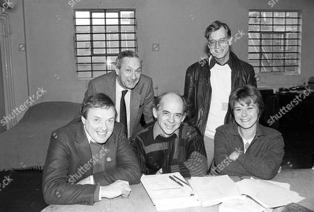 Behind the scenes, James Bolam, Michael Glynn, Alan Plater, Brian Parker and Barbara Flynn