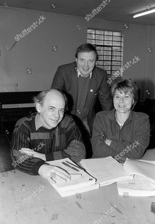 Behind the scenes, Alan Plater, James Bolam and Barbara Flynn