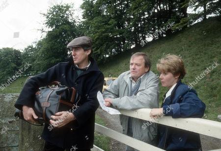 Patrick Drury as Ivan, James Bolam as Trevor Chaplin and Barbara Flynn as Jill Swinburne