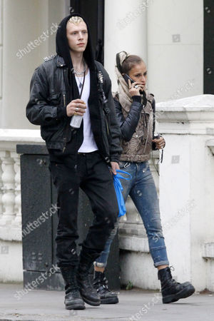 Stock Picture of Sullivan Legat-Cayless and Alice Dellal