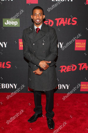 Editorial photo of 'Red Tails' film premiere, New York, America - 10 Jan 2012