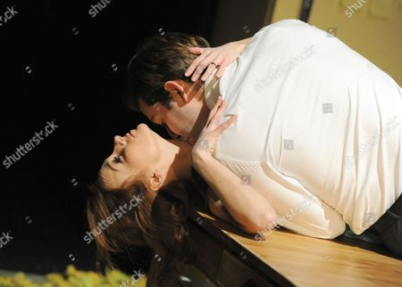 Stock Picture of 'Lovesong' - Leanne Rowe as Margaret and Edward Bennett as William