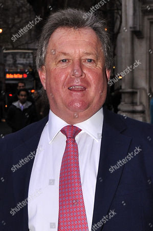 Stock Image of Hugh Whittow, Editor of the Daily Express